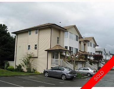 Central Abbotsford Townhouse for sale: Clayburn Estates 4 bedroom 1,600 sq.ft.