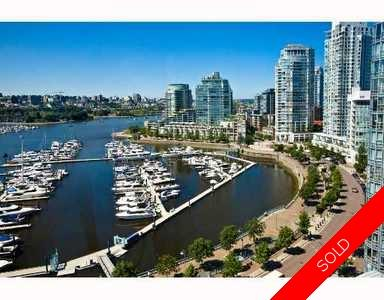 False Creek North Condo for sale: QUAYWEST RESORT RESIDENCE 2 bedroom 1,067 sq.ft., 1805 1033 MARINASIDE Crescent